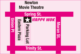 Happy Wok At Newton, New Jersey, The Best Chinese Food To Dine In and Take Out